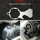 Engine Oil Filter Cap Drain Plug Removal Wrench Spanner Kit Fit For BMW ADV Type