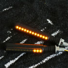 12V ATV Scooter Dynamic LED Indicator Signal Blinker +Red Rear Strobe Light USA