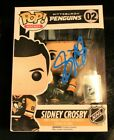 SIDNEY CROSBY PITTSBURGH PENGUINS SIGNED AUTOGRAPHED AUTHENTICATED FUNKO POP COA
