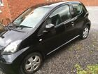 LARGER PHOTOS: Toyota aygo 1.0 3door black met 55k on the v. Car cat c used as a work car