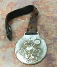 Vintage 1930s Ingersoll Mickey Mouse Character Pocket Watch Fob Disney