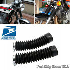 2 Pcs 15 Knots Motorcycle Gator Front Fork Cover Shock Protector Absorber Sleeve