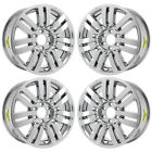 20 LINCOLN MARK LT NAVIGATOR PVD CHROME WHEELS RIMS FACTORY OEM 3651 EXCHANGE