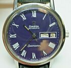 Omega Seamaster Vintage Gents Day Date Automatic Watch With Case