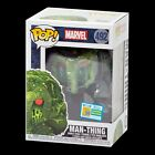 FUNKO POP VINYL SDCC 2019 SWAMP MAN THING OFFICIAL STICKER IN-HAND