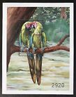BHUTAN MACAW STAMPS S S 1999 MNH BIRDS MILITARY MACAWS WILDLIFE LANDSCAPE NATURE