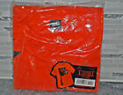 Hallmark Vintage Halloween Black Scared Cat T shirt New In Package XL One Size