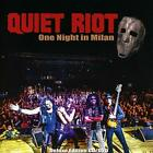 USED CD QUIET RIOT ONE NIGHT IN MILAN / CD +
