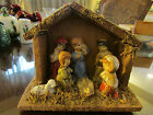 Manger Christmas Nativity Jesus in Manger Wise men Animals Decoration