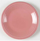 Salad plate Fiesta rose Pink Dish by Homer Laughlin USA 7 inch  plate