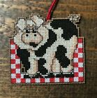 Handmade Cross Stitch Christmas Ornament-Completed-Home Decor-Portia Pig-Kitchen