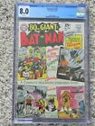 Batman 176 CGC 80 White Pages Dec 1965 Classic Joker and Catwoman 80 page Giant