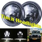 2X 7 inch Round LED Headlights Projector Hi Lo for 97 17 JEEP Wrangler JK TJ LJ