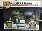 Funko POP! Marvel Avengers Endgame Hulk & Thanos 2 Pack Barnes & Noble Exclusive
