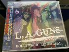 L.A. GUNS Hollywood Rehearsal JAPAN CD OBI Near Mint Phil Lewis Traci Guns RARE