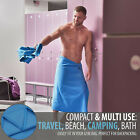 Large Microfibre Bath Travel Towel 30 x 60inch- Compact, quick drying, absorbent