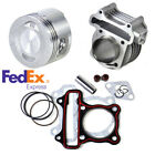 47mm Big Bore Cylinder Piston Rings Kit For GY6 50cc 80cc 4 Stroke Scooter Moped