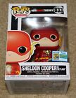 SDCC 2019 EXCLUSIVE FUNKO POP THE BIG BANG THEORY SHELDON COOPER AS THE FLASH LE