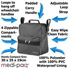 Medipaq Wheelchair Bag Shopping Mobility Scooter Holdall Disabled Storage