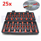 25x ATV Motorcycle Crimp Terminal Cable Wiring Connector Pin Puller Removal Tool