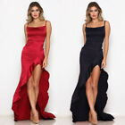 US Women's Bridesmaid Prom Ball Gown Formal Evening Party Cocktail Maxi Dress