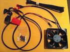 NEW for KTM Cooling Fan Kit w/LED fits SXF XC W EXC XCF 250 300 350 450 500 -530