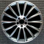 Mercedes Benz S550 Compatible Replica Machined w Charcoal Pockets 20 inch Wheel