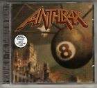 ANTHRAX: VOLUME 8 THE THREAT IS REAL CD JOHN BUSH ARMORED SAINT HYPE STICKER OOP