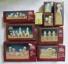 PRECIOUS MOMENTS 24 PIECE MINIATURE PEWTER NATIVITY SET THEY FOLLOWED THE STAR