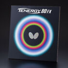 Butterfly Table Tennis Ping Pong Rubber Tenergy 80 FX 19mm Black
