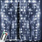197ft Outdoor Nativity Scenes X 98ft 600 LEDs Curtain Light UL Listed Power