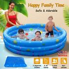 51 3 Kids Inflatable Pool Kiddie Swimming Pool Blow Up Children Toddler Family