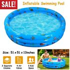 51 Inflatable Swimming Pool Kids Play Pool Blow Up Children Toddler Kiddie