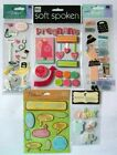 LOT OF 5 MY PREGNANCY PREGNANT BABY SHOWER EMBELLISHMENTS SEE PICTURE
