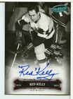 Red Kelly 2006-07 Upper Deck Parkhurst Autograph Red Wings BY400