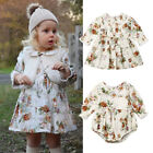 US Little Big Sister Family Matching Clothes Kid Girl Floral Romper Dress Outfit