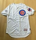 JORGE SOLER AUTO GAME USED CHICAGO CUBS 2015 JERSEY 2016 WORLD SERIES KC ROYALS