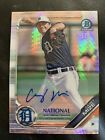 2019 Topps NSCC Bowman Chrome National Convention Cards - Autograph Print Runs 11