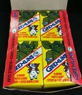 1984 Topps Gremlins Trading Cards Box 36 Vintage Factory Sealed Packs as shown!