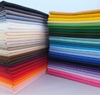 100 Cotton Fabric Solid Color 43 Width Quilting Sewing Tablecloth By The Yard