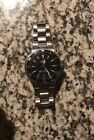 ORIS Pre-owned Automatic TT1 7533 Sapphire Crystal 200m/666ft Water Resist  SS