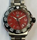 Nice Tag Heuer Formula 1 Professional 200m In Stainless Steel Case