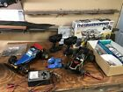 Tamiya vintage rc cars. The Fox and The Grasshopper. Controllers included.