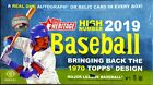 2019 Topps Heritage High Number Factory Sealed Hobby Box Auto or relic per box!)