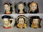 Royal Doulton King Henry VIII 's 6 Wives Toby Mug Set 7