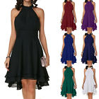 Womens Sleeveless Chiffon Short Dresses Evening Party Cocktail Formal Sundresses