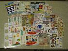 Large Lot of Sticker Packs and Sheets