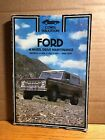 Clymer Ford 4 Wheel Drive Maintenance Manual Bronco F 100 F 150 F 250 1969 1977