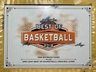 2018 Leaf Best of Basketball factory sealed hobby box.