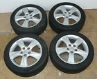 HONDA ACCORD MK8 MK9 17 ALLOY WHEELS WITH TYRES 225 50 R17 TREAD 46 6mm